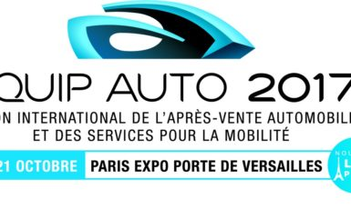 Le salon equip auto vous attend en 2017 à paris
