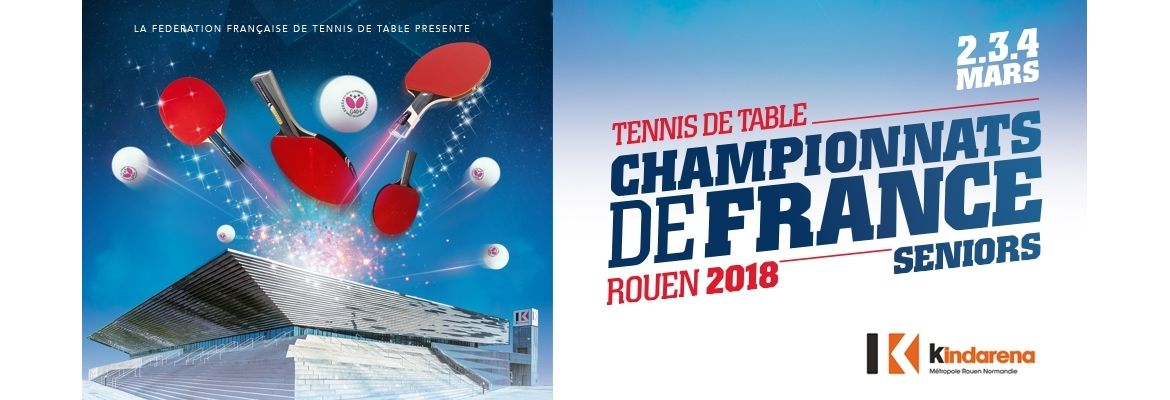 Championnat de france de tennis de table seniors rouen - Federation francaise de tennis de table ...