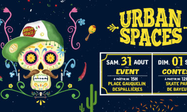 Le festival Urban Spaces de Bayeux